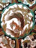 Farfurie - DRAGON - CHINA- JAPONIA  pictata manual pictura portelan
