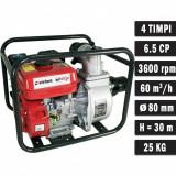 Motopompa benzina Elefant WP60X , 6.5 CP, 60 mc h, motor 4 timpi, 3 , max 30 metri