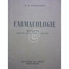 Farmacologie. Manual pentru scoli medii sanitare