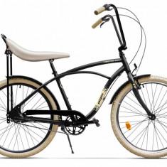 Bicicleta Pegas STRADA 1 NEGRU MAT AL 3V