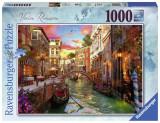 Cumpara ieftin Puzzle Venetia Romantica,1000 Piese, Ravensburger
