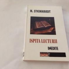 Ispita lecturii - N. Steinhardt--RF16/1