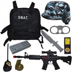Set de joaca SWAT cu accesorii