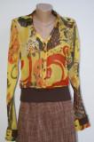 Bluza Fuzzi by Jean Paul Gaultier, M, Multicolor, Maneca lunga
