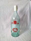 Sticla veche de vin pentru ONT Carpati Brasov, sticla veche din comunism