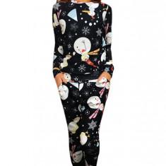 U799-100 Pijama cu model tematic Craciun, L, M/L