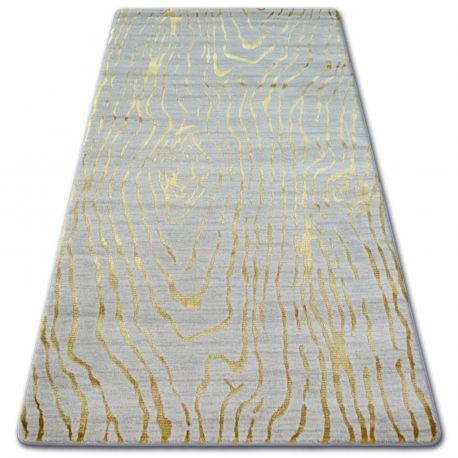 Covor acril Manyas 1703 fildeş si aur, 200x300 cm