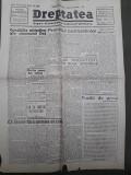 Ziarul Dreptatea 12 decembrie 1946