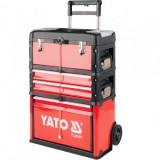 Troler pentru scule din 3 unitati, 45kG, Yato YT-09101