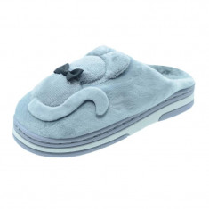 Papuci de casa imblaniti pentru fetite NN GP19-GY1931-1-G, Gri