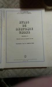 ATLAS DE ANATOMIE UMANA coord> conf >dr> MIRCEA IFRIM , VOL 3