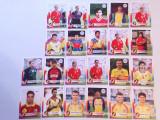 Lot 22 foto fotbalisti Nationala Romaniei (marime gen carte postala) Hagi,Chivu
