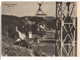 CPIB 16837 CARTE POSTALA - POIANA BRASOV. TELEFERICUL, RPR, Circulata, Fotografie