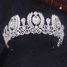 Diadema / coroana / tiara mireasa Bombshell