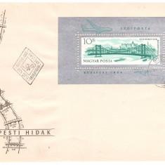 Ungaria 1964 - Poduri, colita FDC