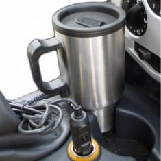 Cana Auto Electrica din Inox 450 ml, 12 V - 120W