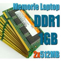 Kit 1GB DDR1 2 x 512MB Sodimm FSB 400/333 Mhz