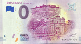 !!!  0 EURO SOUVENIR - MALTA , MDINA = THE  SILENT  CITY  - 2019.1 - UNC
