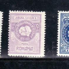 Romania    1927   50 de ani de la Infiintarea societatii Romane de Geografie