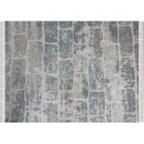 Covor, gri model caramida, 80x200, MURO