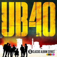 UB40 5 Classic Albums Box slipcase digi (5cd)