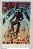 CICLISM,BICICLETA TRICYCLU  CLEMENT C.P. REPRODUCERE