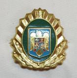 Insigna Militara RARA - Ofiter GRANICERI - Coifura - insemn cascheta - cuc