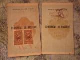 Certificat de nastere 2 buc x35