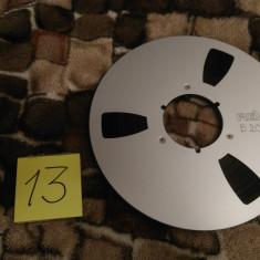 13.Banda Magnetofon REVOX rola metalica 26cm-Silver(Akai,Teac,Tascam,Agfa,BASF)