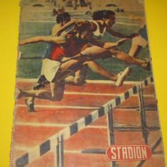 """Revista sport - """"STADION"""" (nr. 8 / 1954)"""