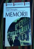 Virgil Gheorghiu - Memorii