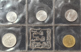 San Marino 1 2 5 10 20 lire 1976 UNC, Europa