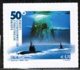 Italia, submarine, timbru adeziv, 2013, MNH