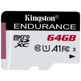 Card Kingston microSDXC High Endurance 64GB Clasa 10 UHS-I