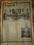 ziarul scanteia 25 martie 1965- inmormantarea lui gheorghe gheorghiu dej