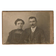 Foto cabinet aprox. 1900 Joanovics Testverek, Cluj - Targu Mures