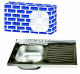 Chiuveta Inox Pentru Masca Zilan LISA ZLN1916
