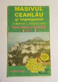 MASIVUL CEAHLAU Harta fizica si turistica (2007 - editia Dr. Gheorghe IACOMI)