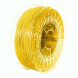 Filament Devil Design PETG pentru Imprimanta 3D 1.75 mm 1 kg - Galben Luminos