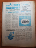 revista programul loto-pronosport 7 iunie 1983