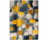Covor Squares Yellow 120x170 cm - Universal XXI, Galben & Auriu