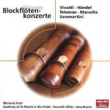 VIVALDI / HANDEL / TELEMAN / MARCELLO / SAMMARTINI : Blockflotenkonzerte  ( CD )