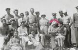 Fotografie ofiteri romani aviatie Buzau 1933