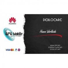 Deblocare Huawei Worldwide 1-5 zile