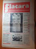Flacara 8 septembrie 1977-art. foto comuna voluntari,baia mare maramures,braila