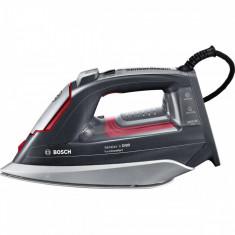 Fier de calcat Bosch TDI953222V 3200W Talpa CeraniumGlissee Antracit metalic/Rosu
