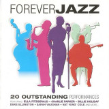 CD Forever Jazz - 20 Outstanding Performances: Nat King Cole, Billie Holiday