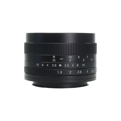 Obiectiv 7Artisans 50mm F1.8 APS-C pentru Canon EOS-M Mount foto