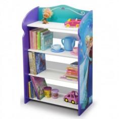 Organizator carti si jucarii cu cadru din lemn Disney Frozen