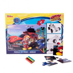 Puzzle 24 piese + Bonus Mickey Mouse